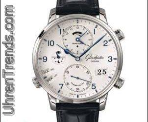 Glashütte Original Senator Cosmopolite Uhr aus Edelstahl