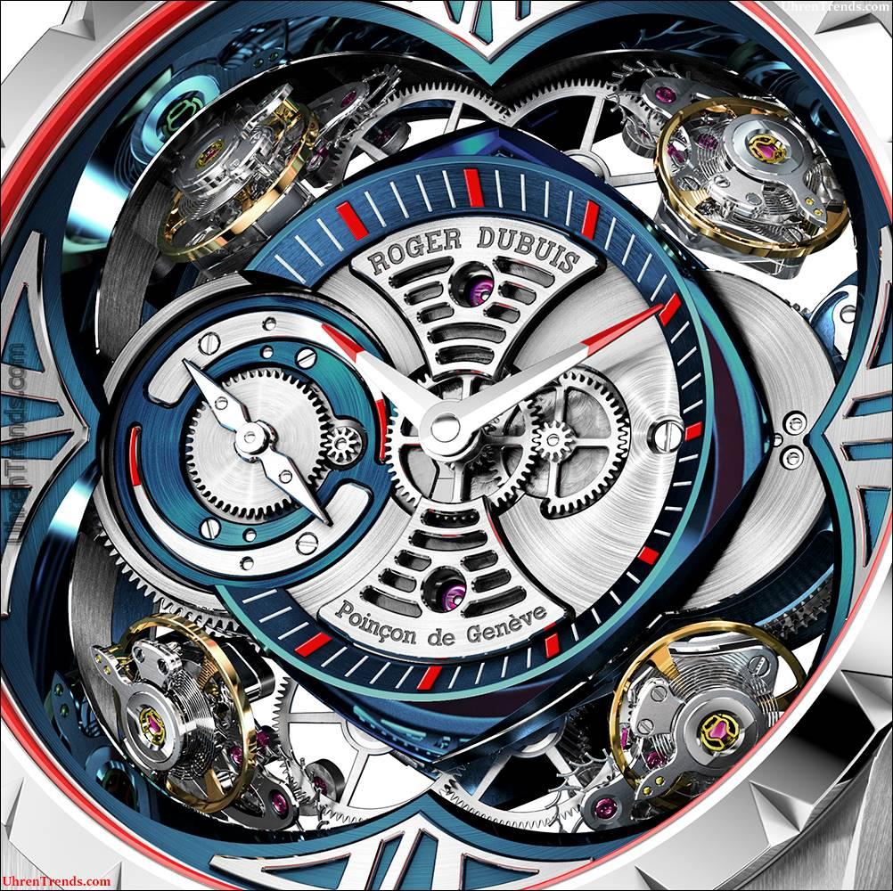 Roger Dubuis Excalibur Quatuor Kobalt MicroMelt Uhr