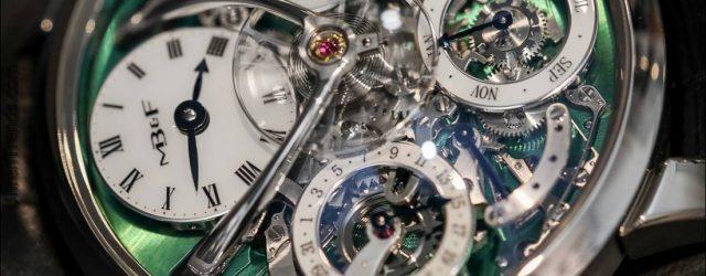 MB & F Legacy-Maschine Perpetual Titan Hands-On