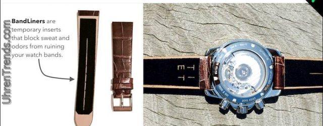 BandLiners sind kostengünstige und effektive Möglichkeit, Uhrenarmband Komfort und Langlebigkeit zu erhöhen