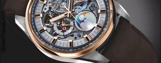 Zenith Chronomaster El Primero Großdatum voll geöffnete Uhr