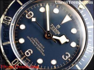 Tudor Heritage Black Bay Bronze Blau Uhr