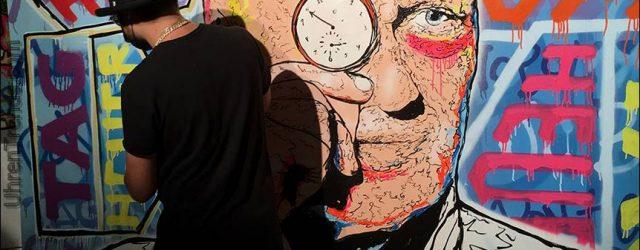 """TAG Heuer wird in Partnerschaft mit Graffiti Artist Alec Monopoly """"Tagged"""" genannt"""