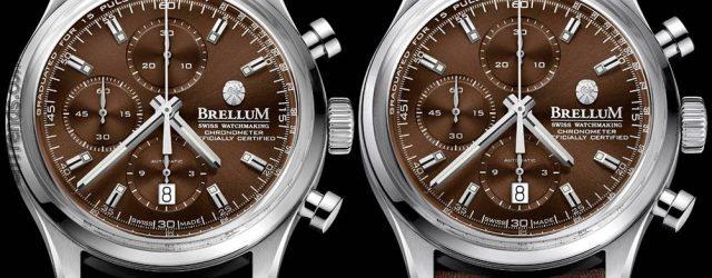 Brellum Duobox Klassische Havana Uhr