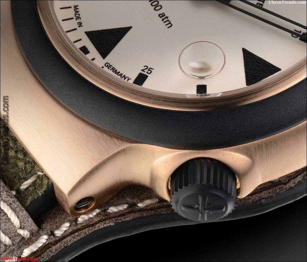 Mühle-Glashütte S.A.R.  Rescue-Timer Bronze Uhr