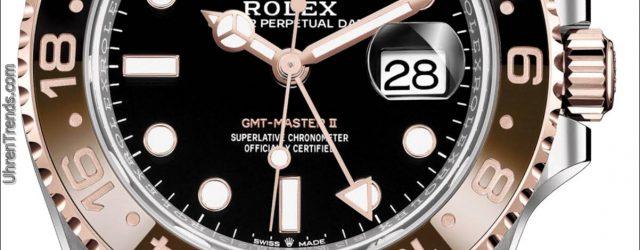 "Rolex GMT-Master II ""Root Bier"" In Rolesor & Everose Gold für 2018"