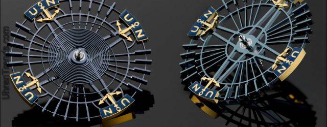 Ulysse Nardin InnoVision 2 Concept Watch ist mit technischer Innovation ausgestattet