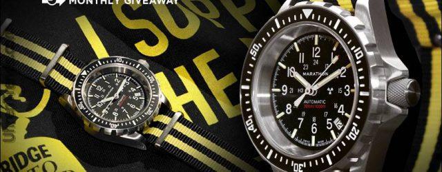 LETZTE CHANCE: Marathon Diver Automatic GSAR Watch Werbegeschenk