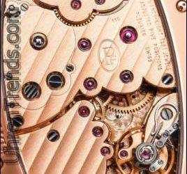 Parmigiani Ovale Pantographe 'Guilloche' Gerstenkorn Zifferblatt & Gold Bewegung Uhr Hands-On