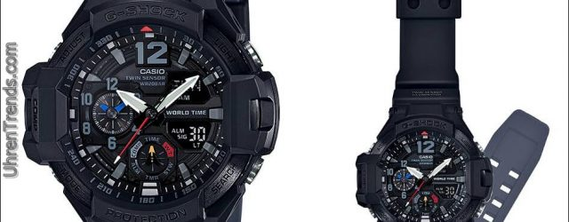 Casio G-Shock Gravitationsmaster GA-1100-1A1 'Black Out' Uhr