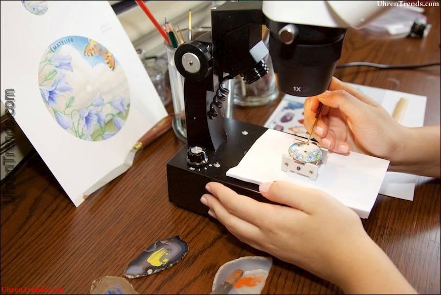Ématelier verfeinert die Kunst der handgemalten Emaille-Zifferblätter und macht sie erschwinglich