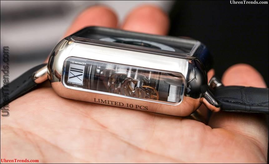H. Moser & Cie Swiss Alp Uhr Minute Retrograde Hands-On
