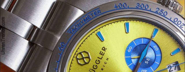 Brüggler Chronograph Anpassbare Uhr Bewertung