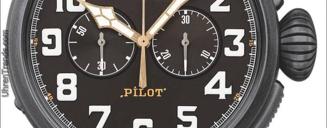 Zenith Pilot Typ 20 Ton Up Schwarz Chronograph