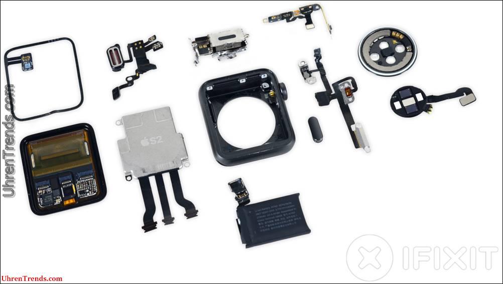 Teardown: iFixit sieht in der Apple Watch Series 2 aus