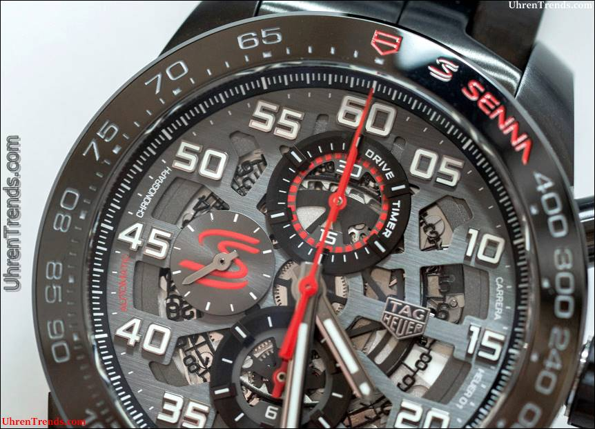TAG Heuer Carrera Heuer-01 und Formel 1 Ayrton Senna Special Edition Uhren Hands-On