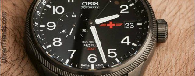 Oris GMT Rega Limited Edition Uhr Hands-On
