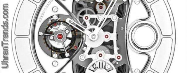 Eine moderne Exotik erinnernd: Chanel J12 Rétrograde Mystérieuse Tourbillon Uhr