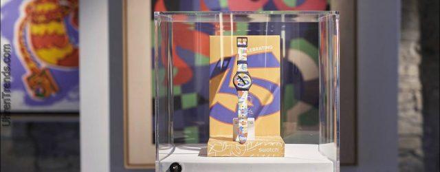 Swatch Ugo Art Spezialuhr zum 35-jährigen Jubiläum