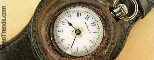Im Jahr 1916, The New York Times endlich zugelassen Die Armbanduhr ist hier zu bleiben