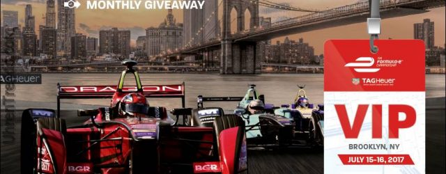 LETZTE CHANCE: Formel E ePrix Rennen in New York mit TAG Heuer Uhren Experience Giveaway
