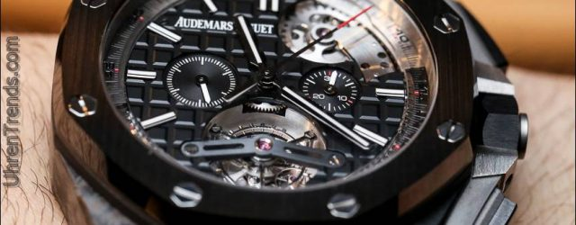 Audemars Piguet Royal Oak Offshore Selbstaufzug Tourbillon Chronograph Uhr Hands-On