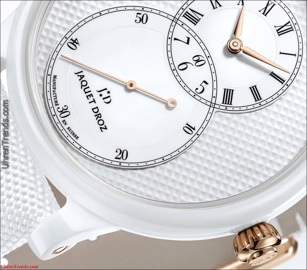 Jaquet Droz Grande Seconde Keramik Clous De Paris Uhren