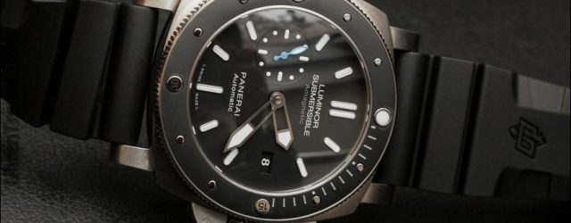 Panerai Luminor Unterwasser 1950 Amagnetic 3 Tage Automatik Titanio PAM01389 Uhr Hands-On