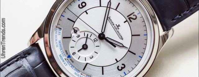 Jaeger-LeCoultre Master Steuerdatum, Master Geographic & Master Chronograph Stahl Uhren Hands-On