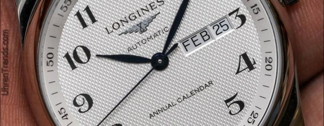 Longines Master Collection Jahreskalender Uhr Hands-On