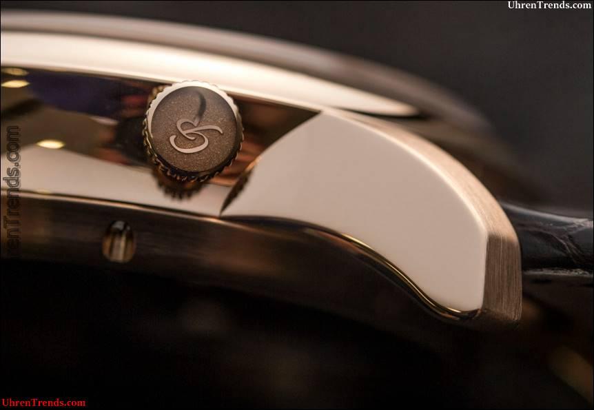 Romain Gauthier Einblick-Mikrorotor-Uhr Hands-On