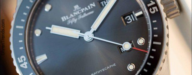 Blancpain Fünfzig Fathoms Bathyscaphe Quantième Annuel Hands-On