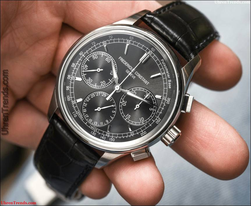 Frederique Constant Flyback Chronograph Manufaktur Uhr Hands-On