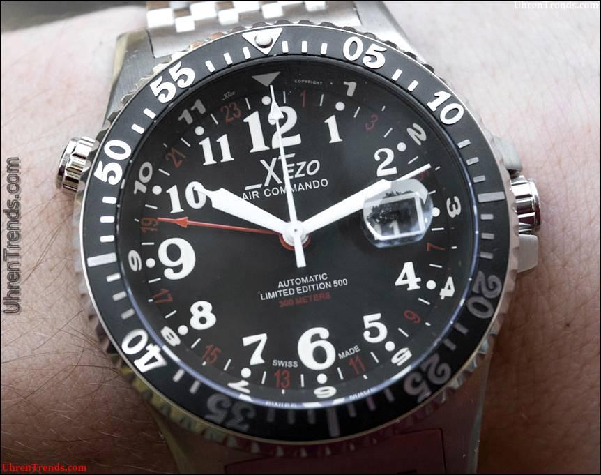 Xēzo Air Commando D-45R & D-45S Uhr Bewertung