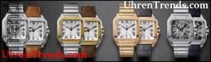 Aktualisierte Cartier Santos Watches stellen neue QuickSwitch- und SmartLink-Systeme vor