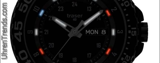 "Traser P6600 Shade ""Rot, Weiß, Blau"" Special Edition Tactical Watch"