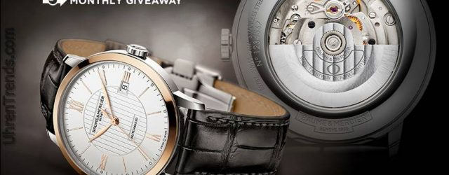 UHR Giveaway: Baume & Mercier Classima Automatic