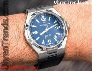 Vacheron Constantin Overseas Uhr In Blau Hands-On
