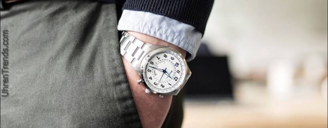 William L. 1985 Automatischer Chronograph und verbundene Uhren