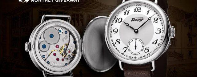 LETZTE CHANCE: Tissot Heritage 1936 Mechanische Uhr Werbegeschenk