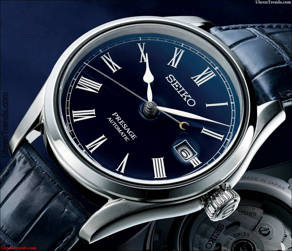 Seiko Presage blaue Emaille SPB069 Limited Edition Uhr