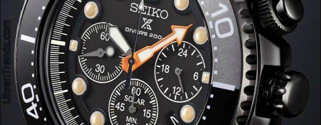 Seiko stellt drei 'Black Series' Prospex Limited Edition Tauchuhren vor