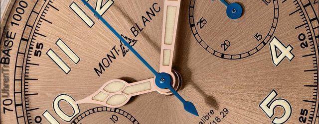 Montblanc 1858 Chronograph Tachymeter Limited Edition 100 Uhr