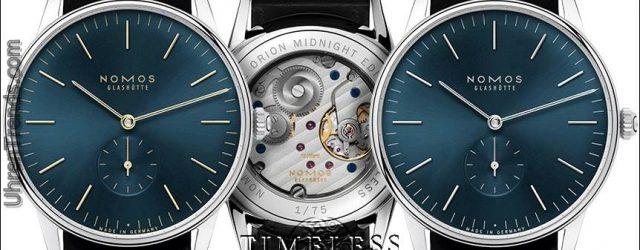 Timeless + Nomos Luxusuhren kommen mit begrenzter Zeit Gratis Geschenk für einenBlogtoWatch Leser