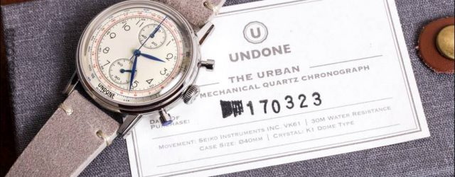Uralte Urban Vintage Chronograph Watch Review