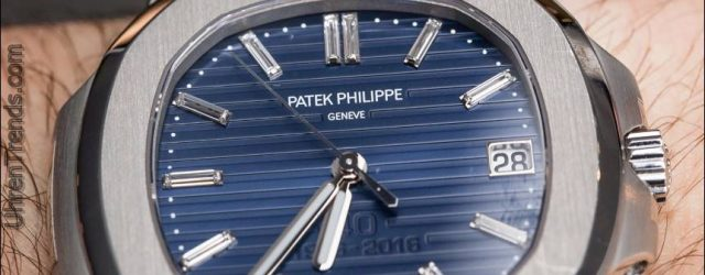 Patek Philippe Nautilus 40th Anniversary 5711 / 1P Platinum Uhr Hands-On