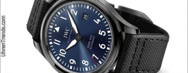 IWC Fliegeruhr Mark XVIII Edition 'Laureus Sport For Good Foundation'