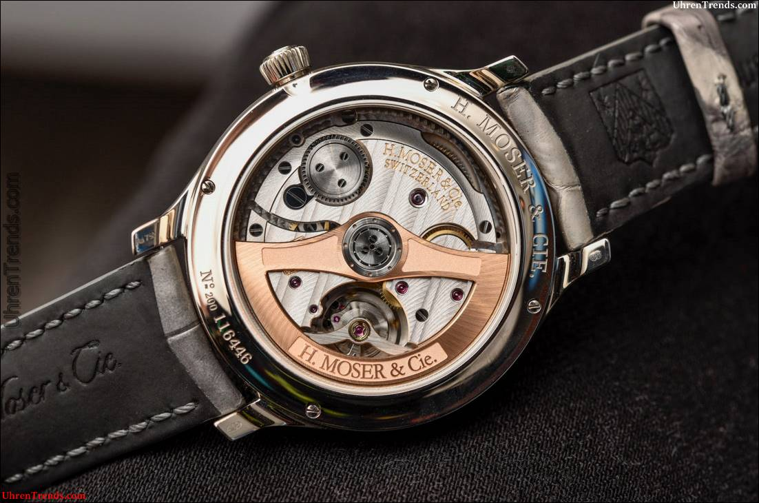H. Moser & Cie. Endeavour Flying Hours Watch Hands-On