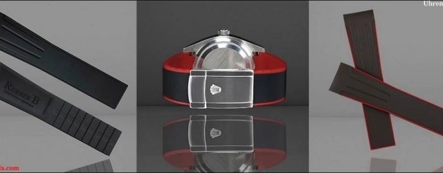Rubber B Uhrenarmbänder für den Rolex Sky-Dweller