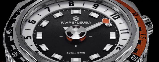 Favre-Leuba Raider Harpune Uhr mit glatter Art, die Zeit zu zeigen